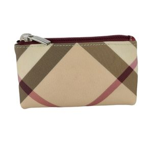 Burberry London Check Coated Canvas Wallet